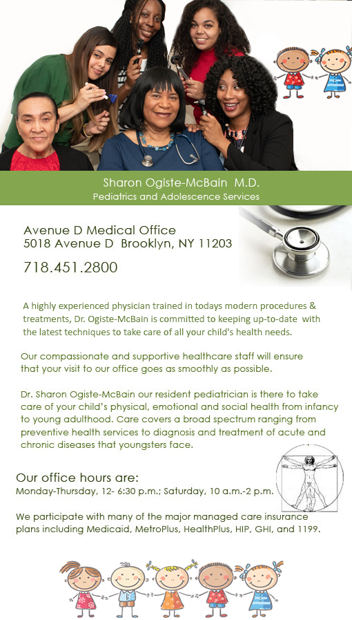 Avenue D Pediatics and Adolescence Medical Office of Brooklyn
